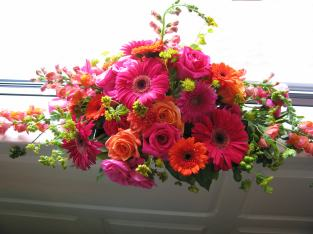 Wedding window treatment
